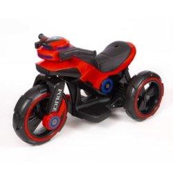 Электромотоцикл Y-Maxi YM 198 Police красный (колеса резина, кресло кожа, амортизация, подсветка, музыка, скорость 6-7 км\ч)